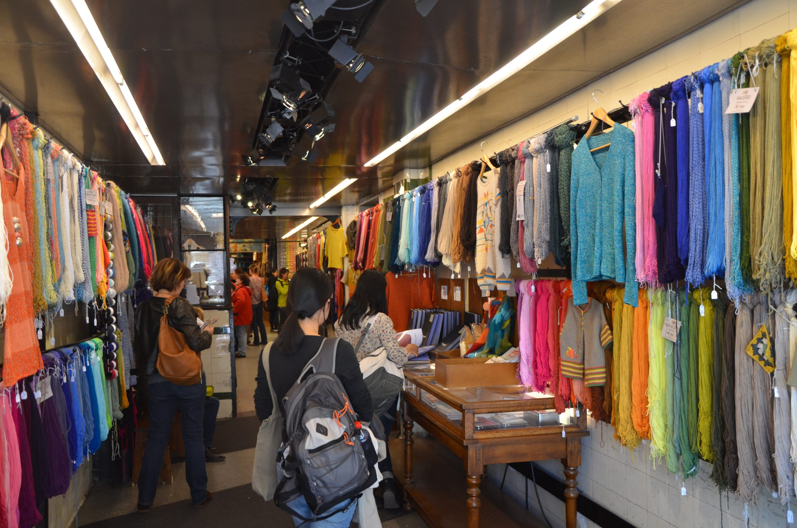 Paris Yarn Shops Ms Mae Travels